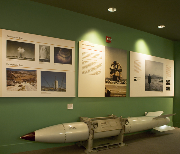 Tactical Nuclear weapons display