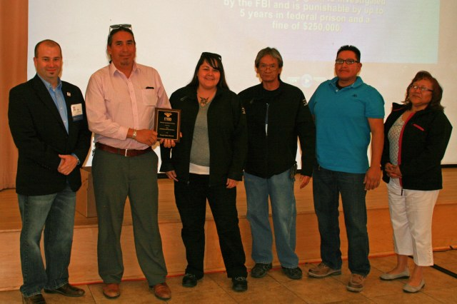 Navajo Nation staff receives the 2014 MAA Award of Institutional Excellence