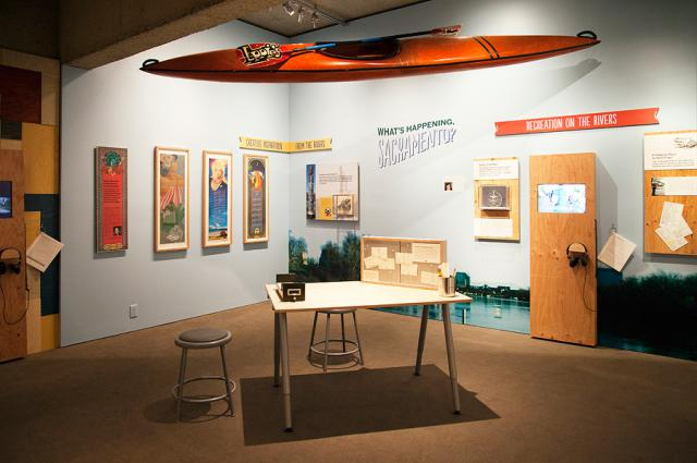 The What's Happening Sacramento exhibit.